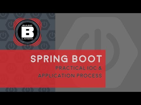 spring boot practical ioc and application process