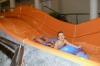 Testowanie pontonów na Fali