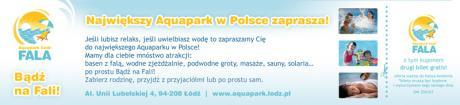 Promocja na ferie w Aquaparku