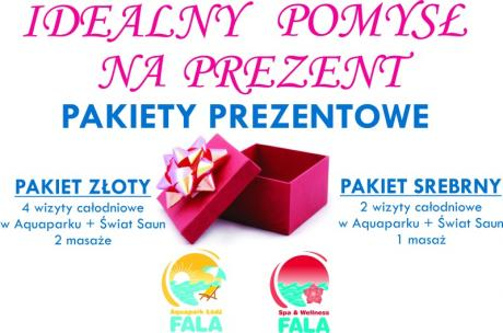 Świąteczne pakiety w Aquaparku Fala