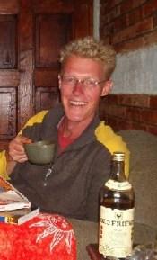 We hebben hier een oude vriend ontmoet: Old Friend whiskey!