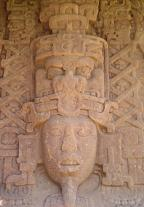 Maya sculptures in Quiriguá