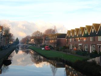 Het Papenpad in Zaandam, nieuwbouw op zijn Zaans