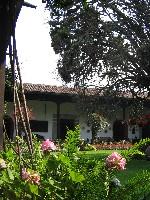 De binnentuin van Casa Popenoe