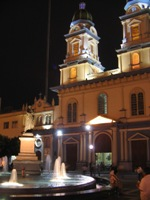 Plaza de San Fransisco at night, Guayaquil