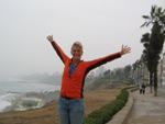 Bas in Lima, ondanks mist toch blij
