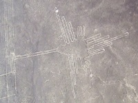 De Kolibri in de Nazca woestijn