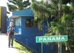 Bas bij de grensovergang naar Panama