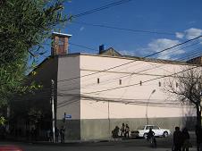 De San Pedro gevangenis van buiten