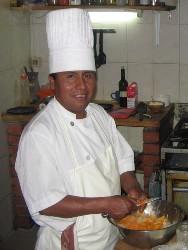 Boliviaanse chef maakt nederlandse hutspot