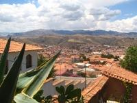 Uitzicht vanaf terras bij Plaza arizures