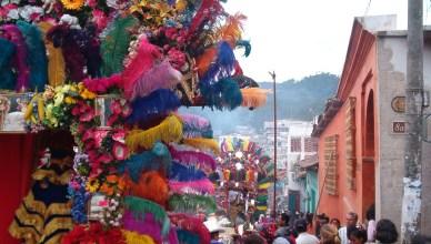 Kerstmarkt in Chichicastenango