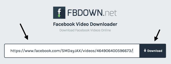 scaricare video da facebook con fbdown