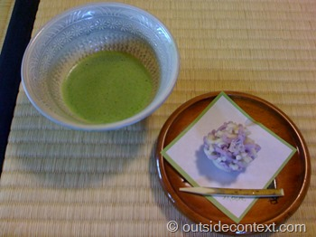 Traditional Japanese tea