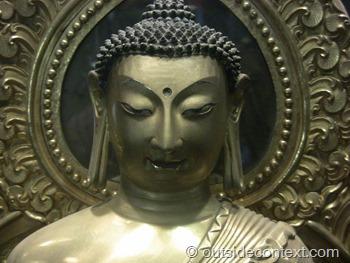 Buddha statue in Beijing