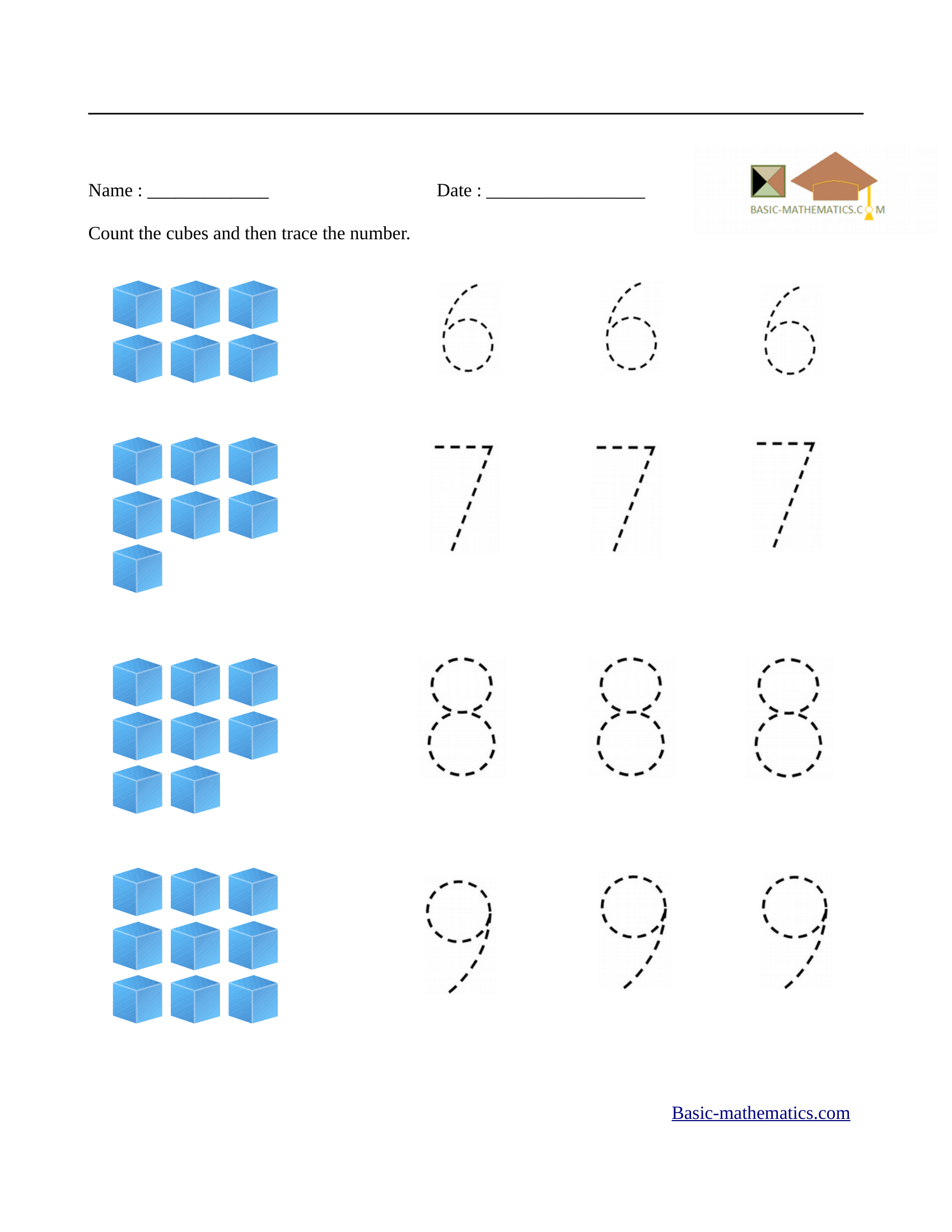 Math Graphing Worksheet For Preschoolers