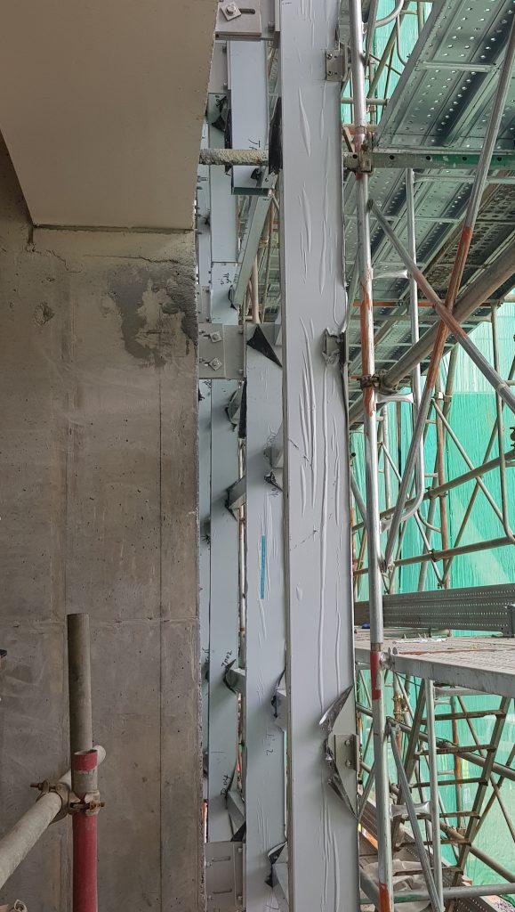 https basiccivilengineering com 2019 11 facade or curtain wall installation html