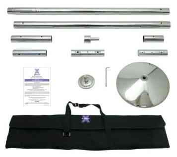 45mm Xpert X-Pole Dancing Pole Kit Portable with Carry Case review