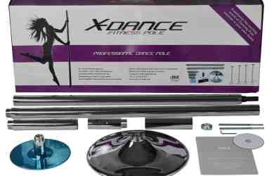 x dance chrome dance pole