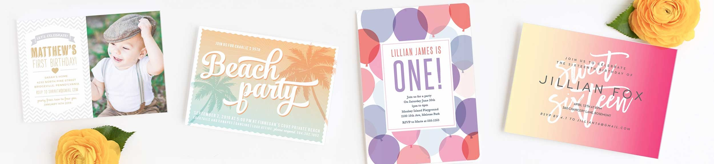 princess quince quinceanera invitations