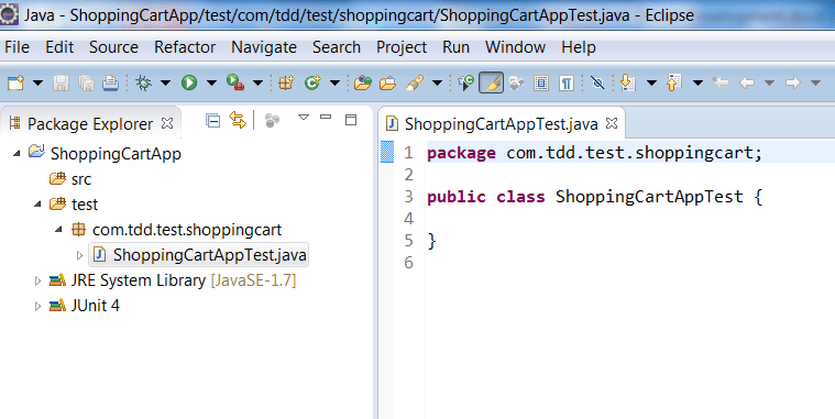 Shopping cart Test driven development Archives - Basics Behind