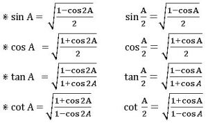 ts inter trigonometry Multiple and submultiple angles 13