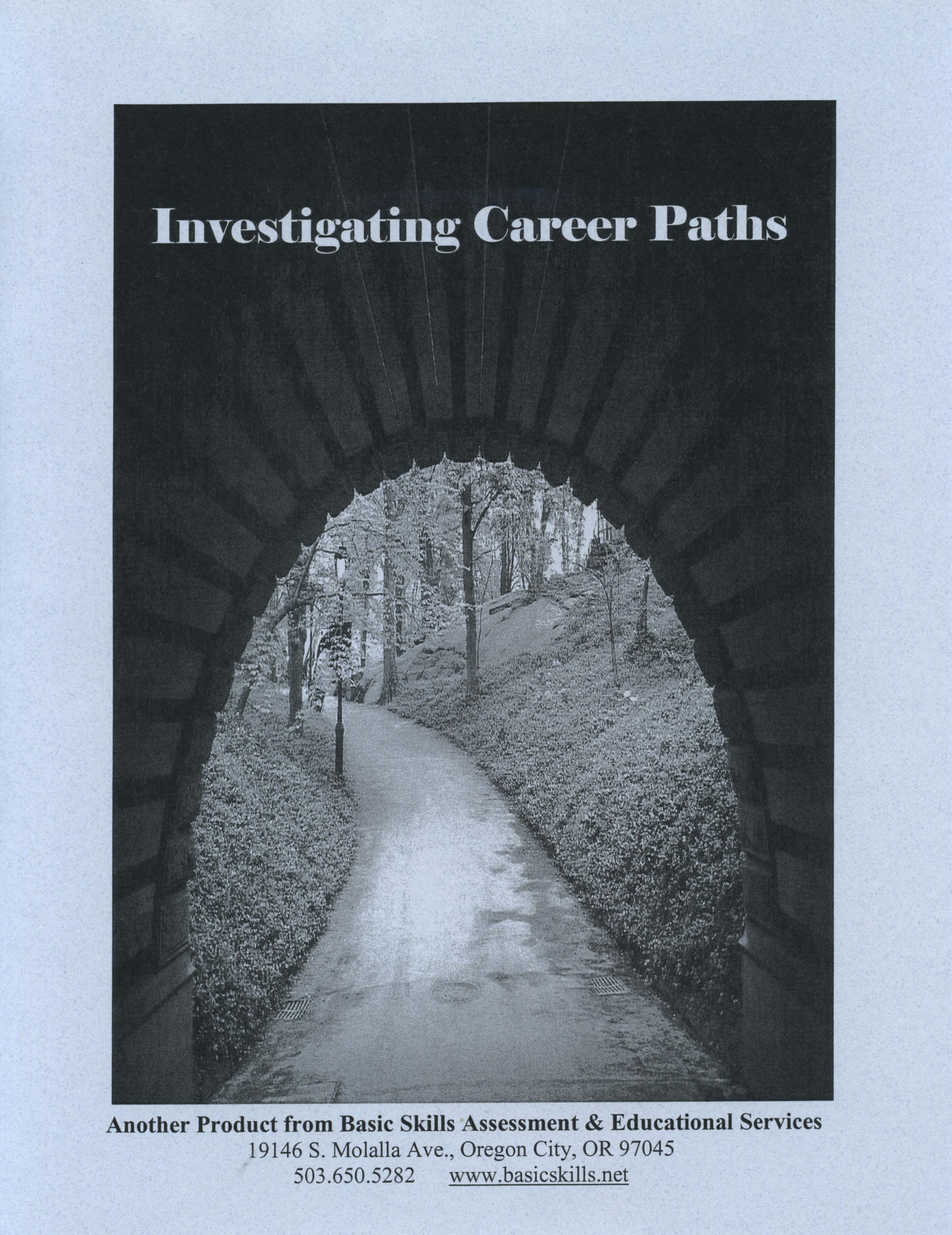 Investigating Career Paths