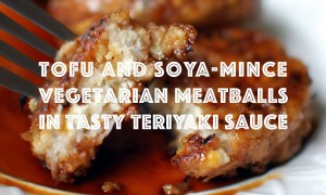 vegetarian-tofu-soya-mince-balls-with-teriyaki-sauce