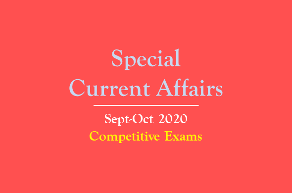 special-current-affairs-sep-oct-2020
