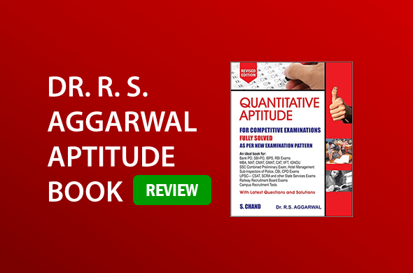 RS Aggarwal Quantitative Aptitude Book for Competitive Examinations