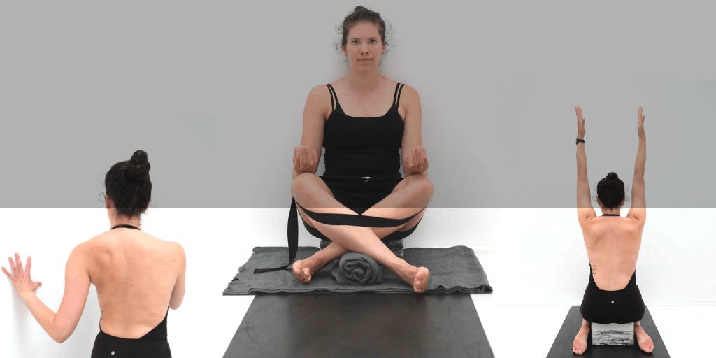 Header yoga voor scoliose