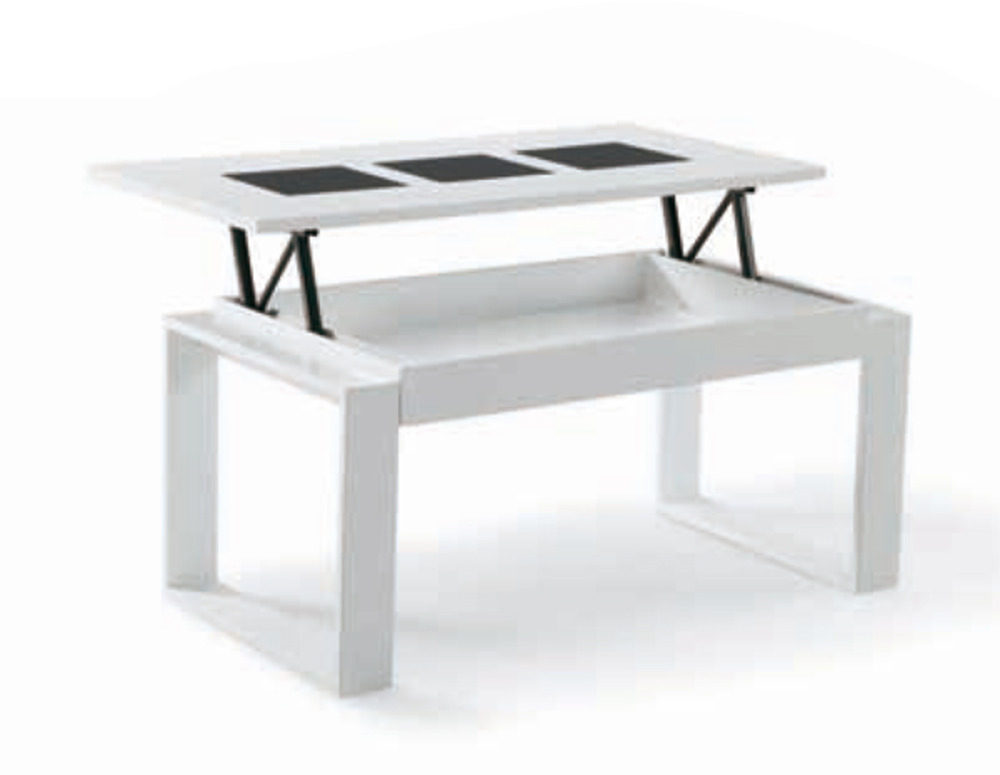 Table Basse Relevable Giorgia Blanc