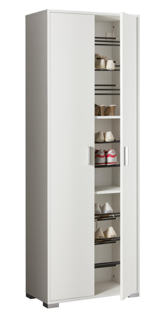 Armoire A Chaussure Easy Blanc