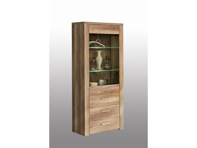 Vitrine Domino Gris Anthracitechene