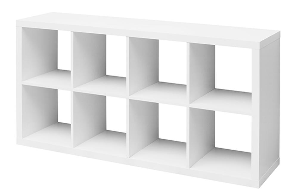 Etagre 8 Cubes Emilie Blanc