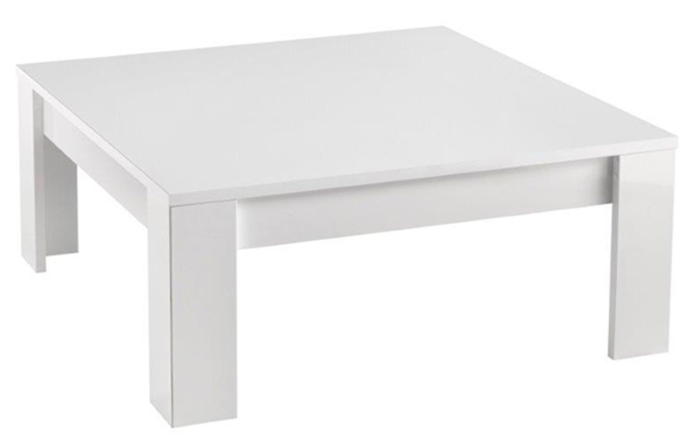 table basse modena laquee blanc