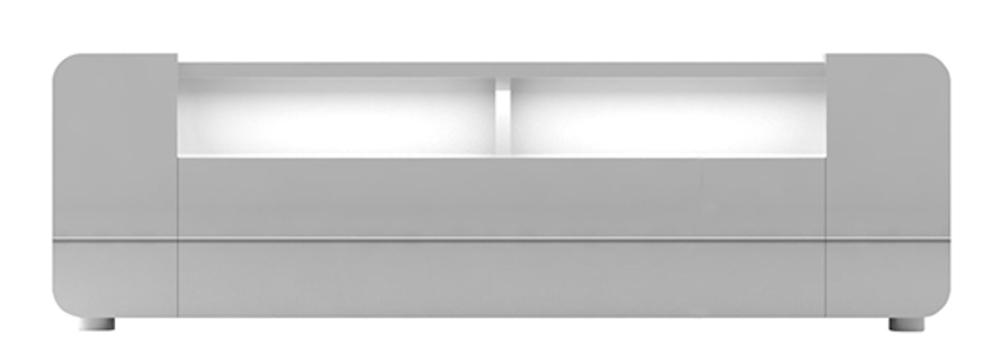 meuble tv bump laque blanc