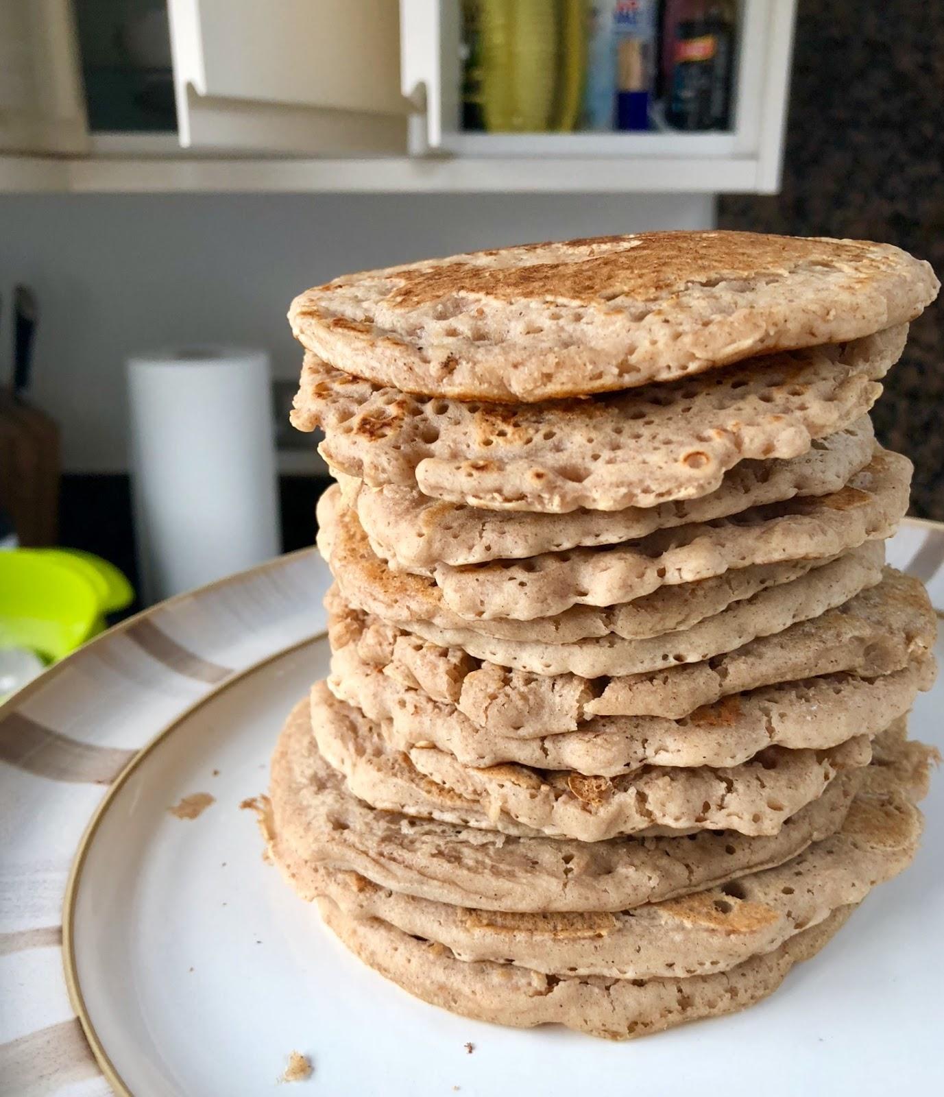 easy vegan pancake recipe