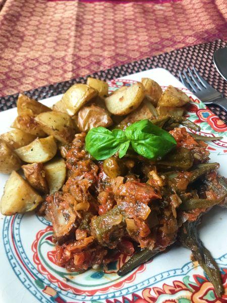 Greek okra stew recipe