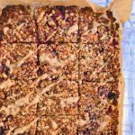 raspberry jam flapjack recipe