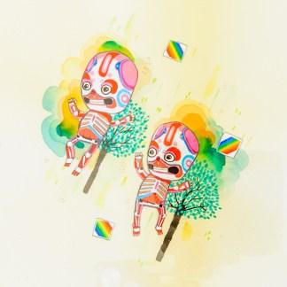 BAS Illustration gallery Cream Skeleton 1