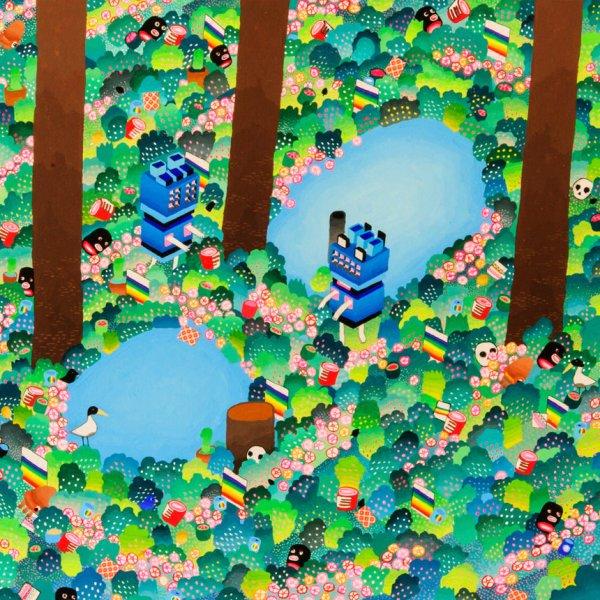 BAS Illustration original art: Forest Collection Print 3