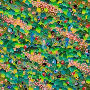 BAS Illustration original art: Forest Collection Print 5