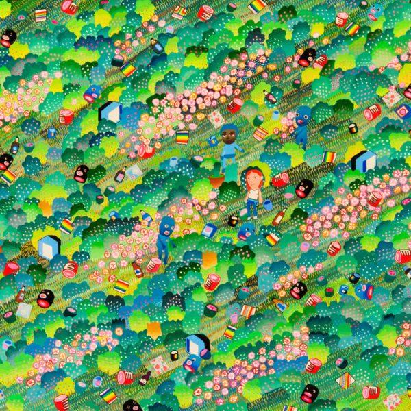 BAS Illustration original art: Forest Collection Print 6