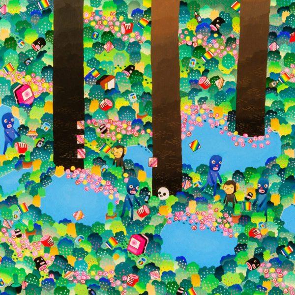 BAS Illustration original art: Forest Collection Print 7