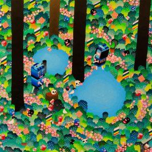 BAS Illustration original art: Forest Collection Print 8