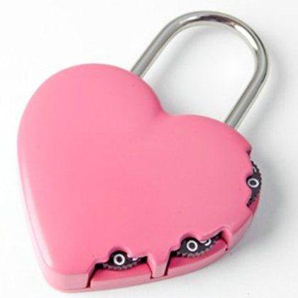 Yale Kalp Şifreli Asma Kilit