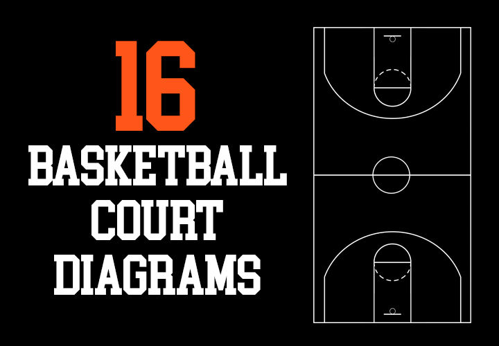 16 Basketball Court Diagrams Free To Download And Print