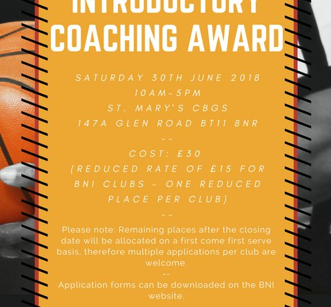 Introductory Coaching Award