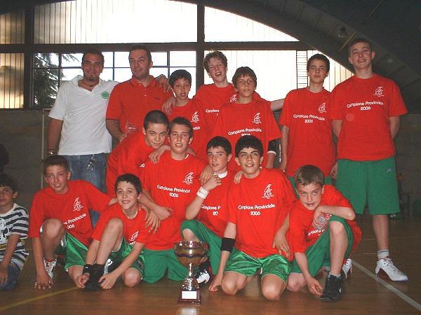 Campioni-Provinciali 2005-2006 - Under 13